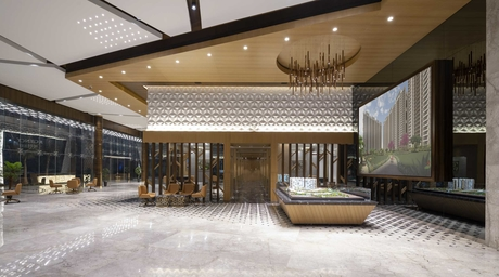 Rajan Goregaoker of GA design creates a stunning sales office