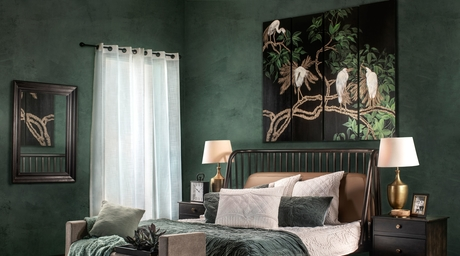This spring, IAAH unveils its new collection of bedding and carpets