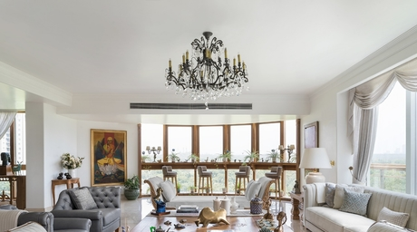 Saba and Rohit Kapoor's home is an exquisite representation of their brand's ethos