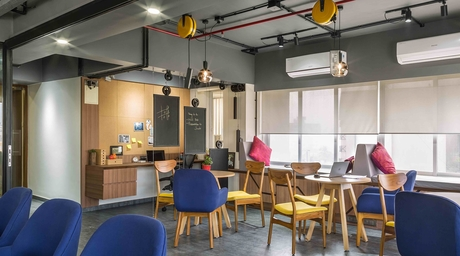 Streamcast's hip new office in Mumbai