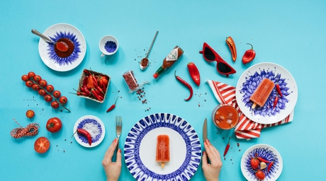 Bernardaud launches their latest tableware collection, In Bloom