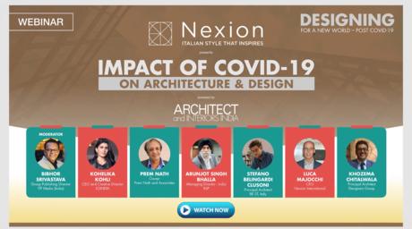 Impact of COVID-19 on architecture & design