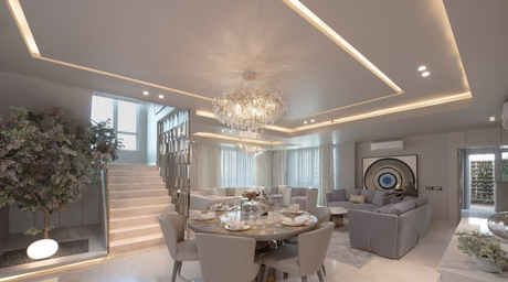 Essentia Environments designs a stunning 4,500 sq-ft penthouse in Gurugram