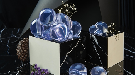 Yasanche unveils the fascinating 'Bubble I Flower Vase' from its Water Series