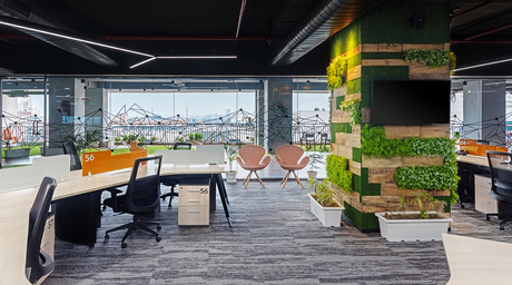 A biome-inspired office