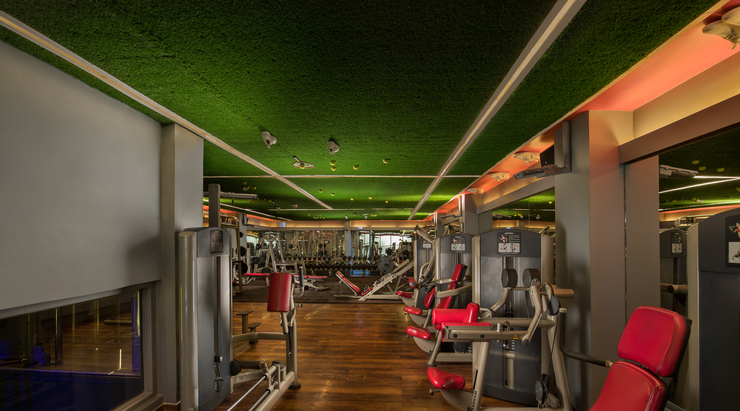 You will want to work out in this New York inspired Gym