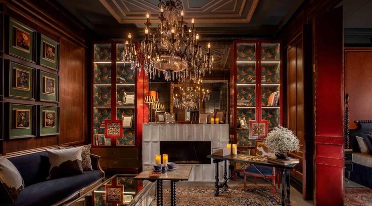 Beyond Designs unveils exquisite den area