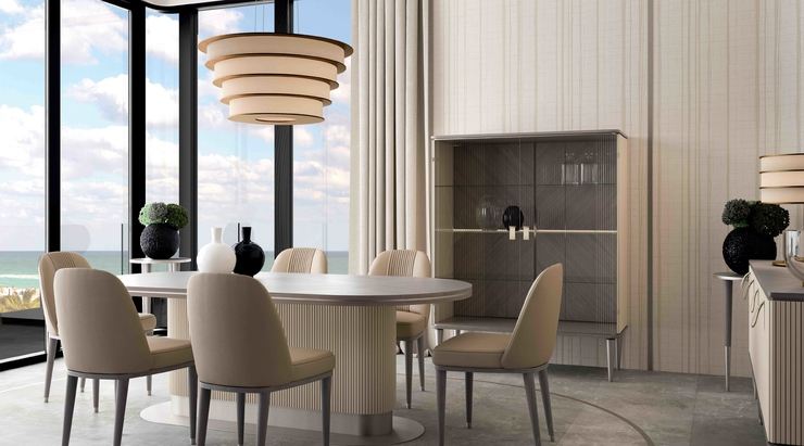 Ottimo launches statement dining tables by Cipriani Homood