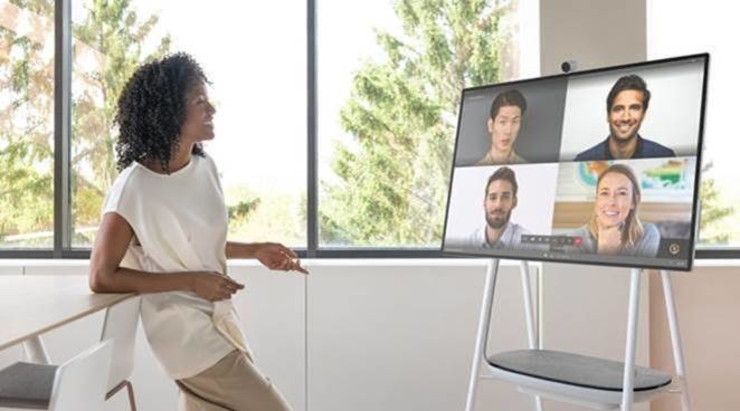 Experience teamwork without boundaries with Surface Hub 2S