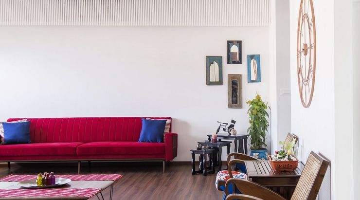 A 3 BHK for a young family in Mumbai by Limehouse Design Studio
