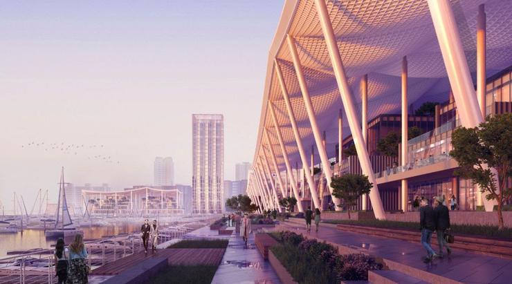 SOM designs new waterfront neighbourhood for Zhuhai