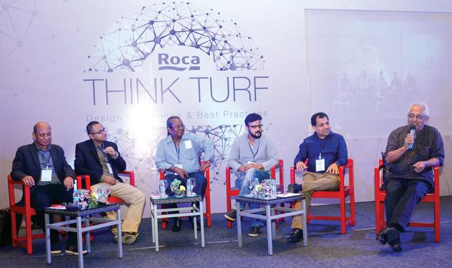 Panel members: (L-R) Arup Kumar Das, Rittick Hazarika, Ranel Kumar Das, Luiet Parasar Hazarika, Santosh Banka and Ronojoy Sen.