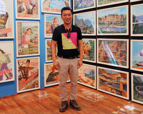 Minsuk Cho at 2014 Venice Architecture Biennale, which he curated.
