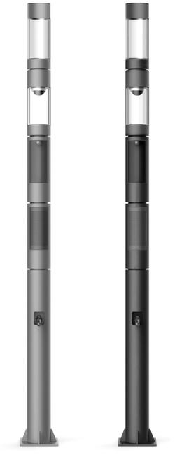 K-Lite's smart lighting poles.