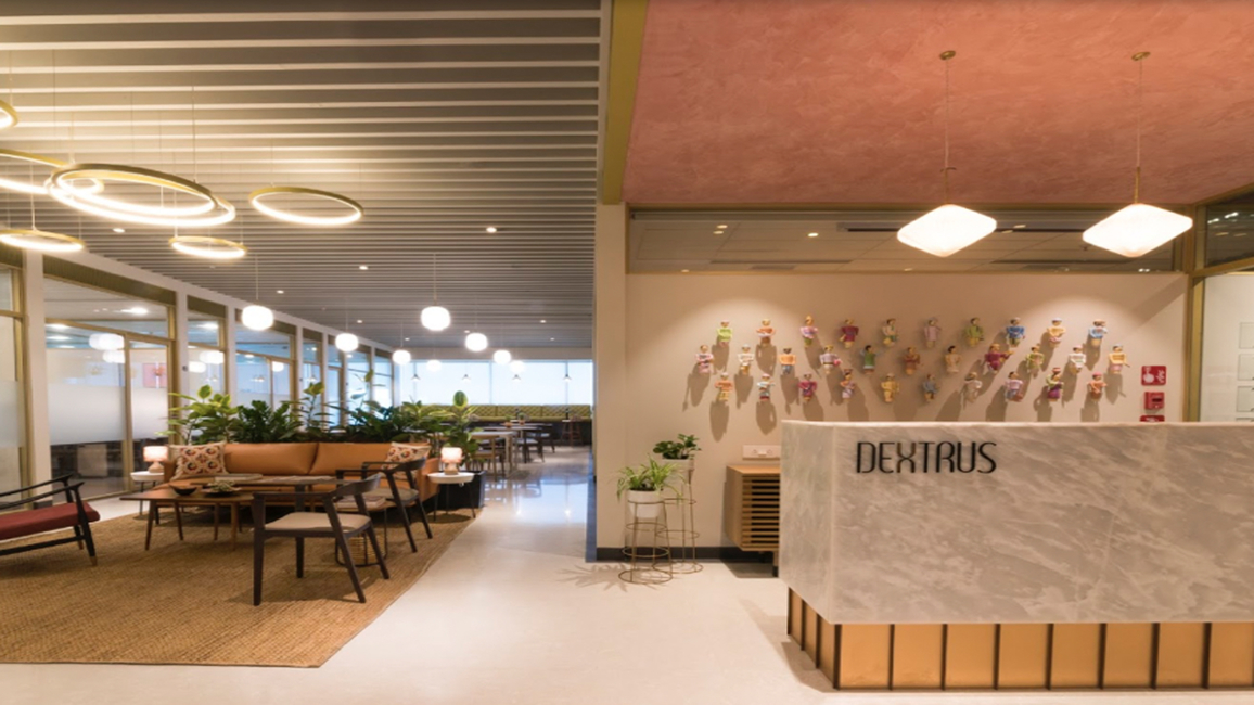 Dextrus aims to create an unconventional shared workspace