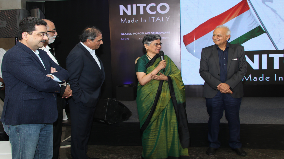 The product launch was inaugurated by MD Vivek Talwar and attended by celebrated architects like Brinda Somaya and Hafeez Contractor