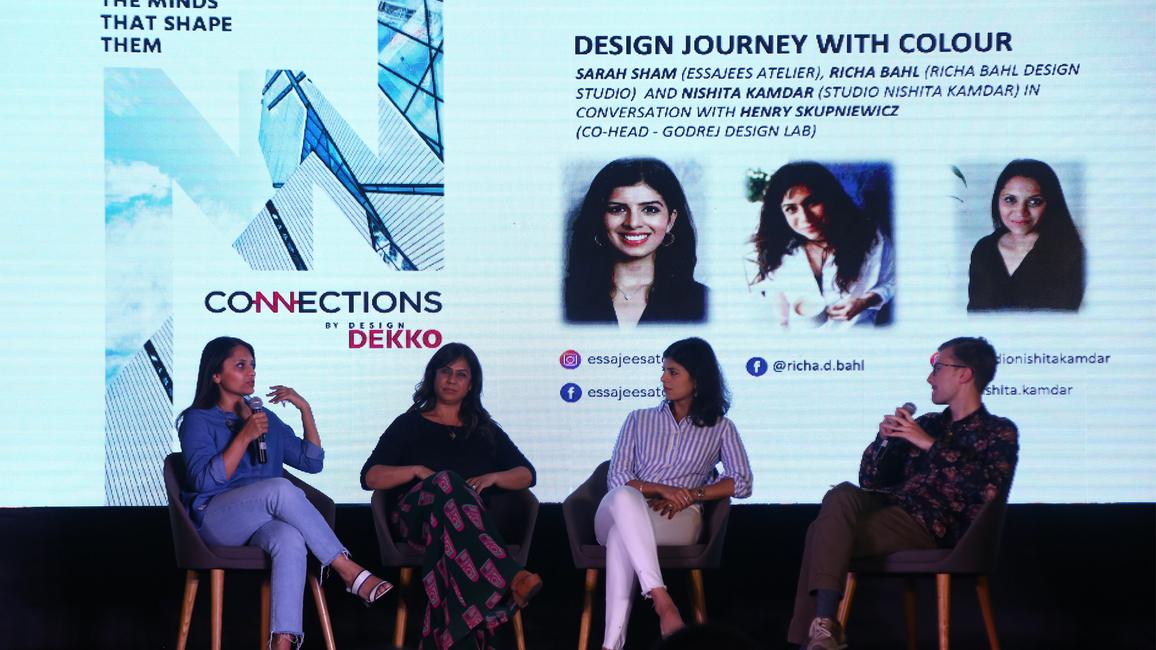 Design dekko, Pune, Connections, Madhav raman, Kalpak shah, Nishita Kamdar, Richa bahl, Sarah sham, Godrej, Ketaki pimplakhare, Yash soni, Henry skupniewics, Sujit patel, Gyproc, U&Us, Josh talks, H&r johnson india, Anagram architects, Essajees atelier
