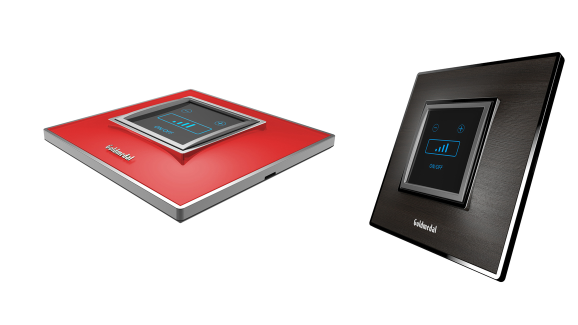 The appliance is fitted with blue backlit LED touch buttons that make it convenient to operate the unit in the dark