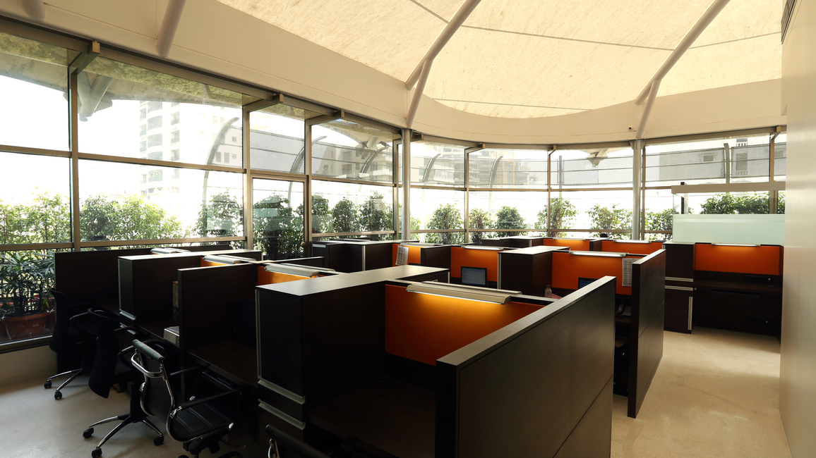 Bespoke office designed by ACDS at AZA House