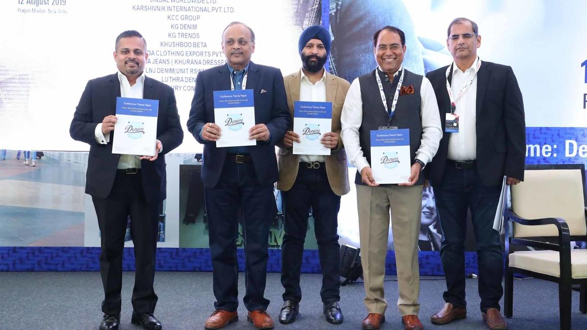 At the launch of the Denim Report, held during Denim Talks in Delhi