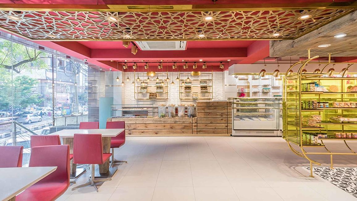 Ksheer Sagar, Delhi, Climaire, Luxurious, Varanasi, Metropolitan city, Floor tiles, Traditional, Jaali motif, Wooden display, Indian motifs, Spiritual heritage, Religious spaces