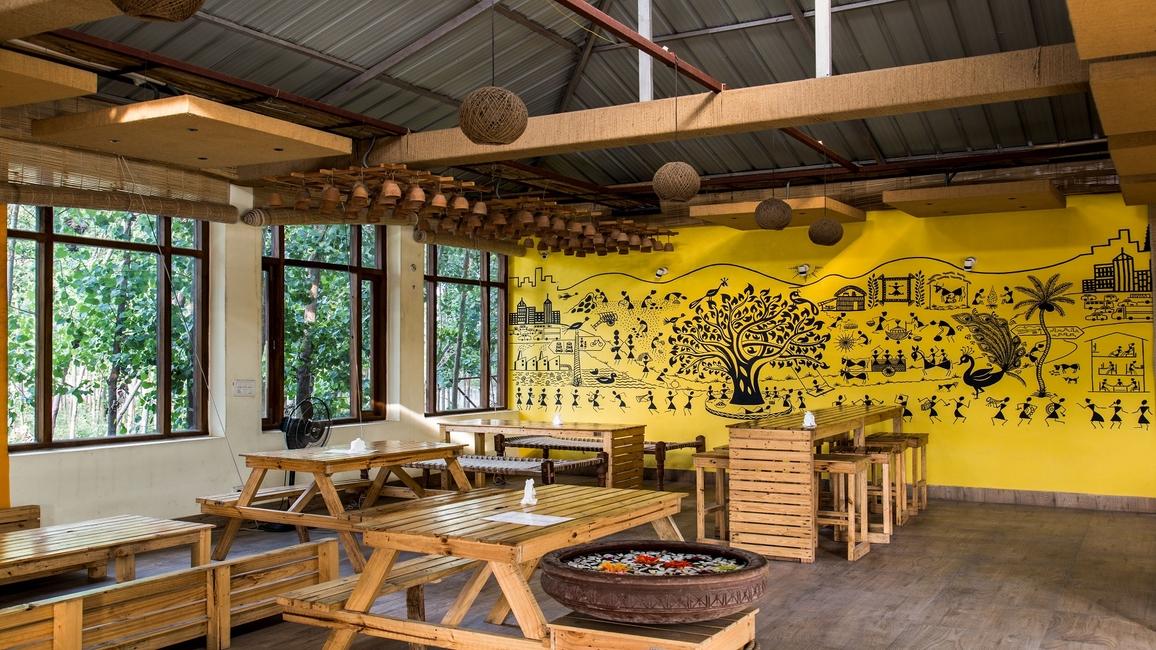 EnRoot, Uttar Pradesh, Village, Rural, Crafts persons, Amroha, Arnav Mathur, Louvers, Landscape, Durability, Exteriors, Kullad, Matkas, Craftsmanship, Local, Sustainable, Earthenware, Warli painting, Village experience, Uplifting