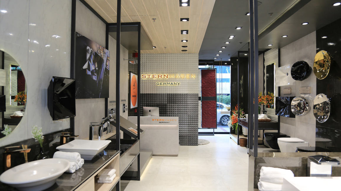 Sternhagen, Germany's premium sanitary ware brand owned by the Acrysil Group, store in Atria Mall - Worli.  (1)