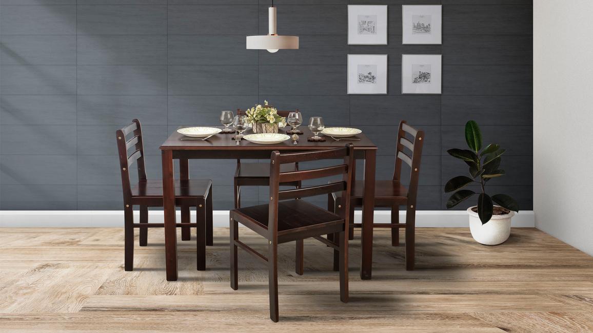 Xylos Launches Borneo Teak Dining Table Set Architectandinteriorsindia