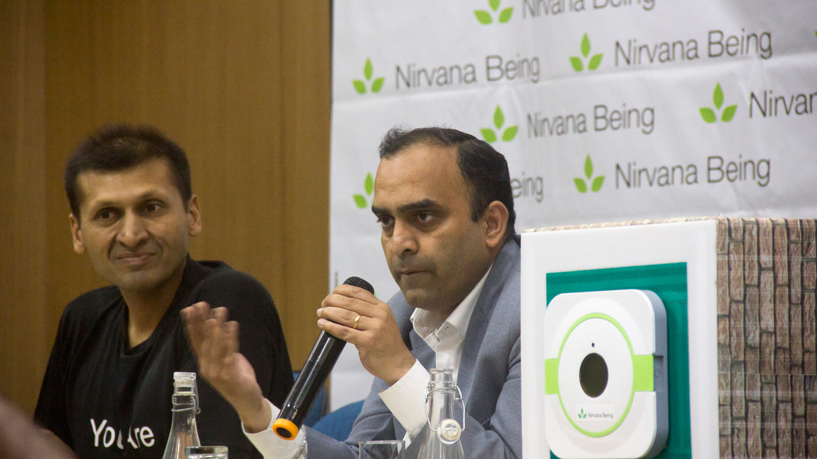 Dr Nitish Dogra elaborating on indoor air pollution