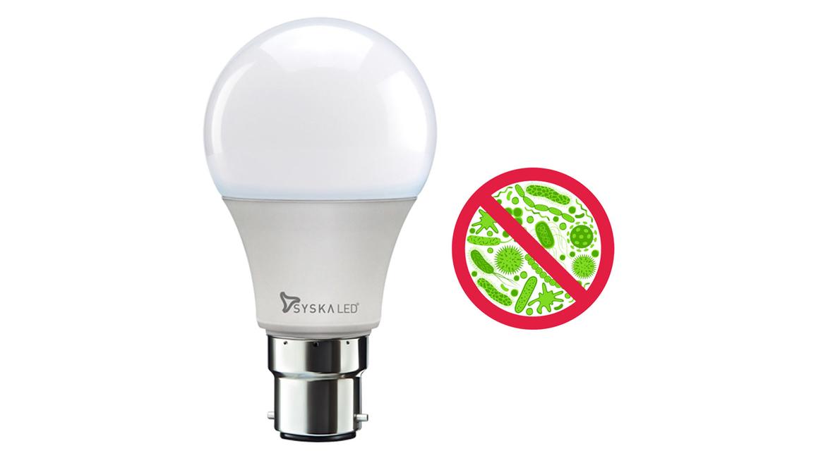 Syska, Bactiglow, Anti bacterial, Led bulb, Syska Group, Syska Bactiglow LED bulb, Commercial spaces, Rajesh Uttamchandani, Bulb, Bactiglow Bulb, Bactiglow  LED  bulb