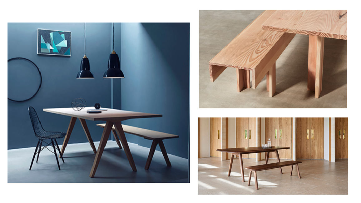 Victoria bench, Terence Conran, Benchmark furniture, Signoff, Strong lines, Max Lamb, The Planks collection, David Rockwell, Clifton bench, OVO bench, Foster + Partners, Mason bench, Steven Owens