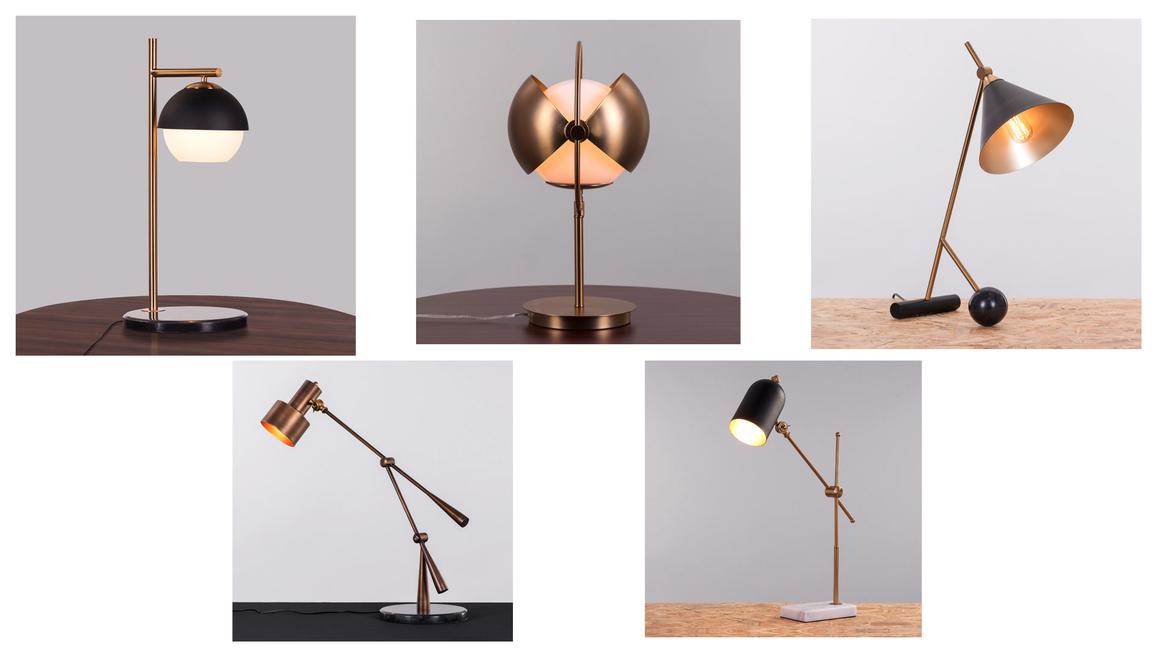The Whiteteak Company Launches Study, Big Bulb Table Lamp