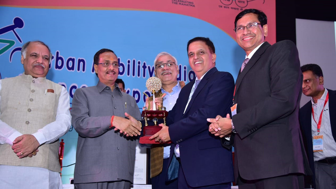 Uttar Pradesh Metro Rail, Best Urban Mass Transit Project, Urban Mobility India Conference, Expo 2019, Dinesh Sharma, Uttar Pradesh, Kumar Keshav, Uttar Pradesh Metro Rail Corporation Limited, Cultural Heritage, Accessible and  liveable cities, Conference and Expo, Institute of Urban Transport