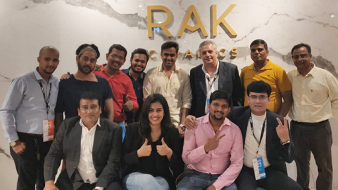 Rak Ceramics, Acetech, ACETECH  Mumbai, Niranjan Hiranandani, Anil Beejawat, Marco Borghi, DGM Marketing, DGM Marketing and Communications, Darayus Bacha, Sanitaryware, Carpediem Events, ACETECH 2019, Maximus Megaslabs