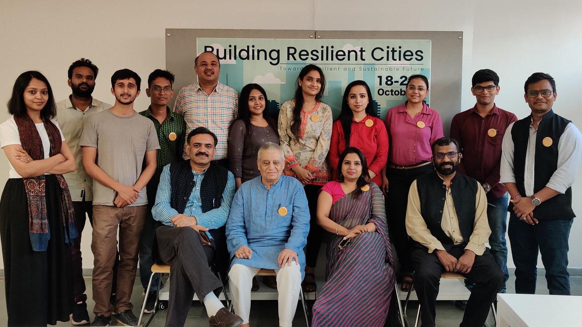 Building Resilient Cities, Anant National University, Ahmedabad, Ajay Piramal, AnantU, Urban Affairs, Government officials, Umamaheshwaran Rajasekar, MN Ashish Ganju