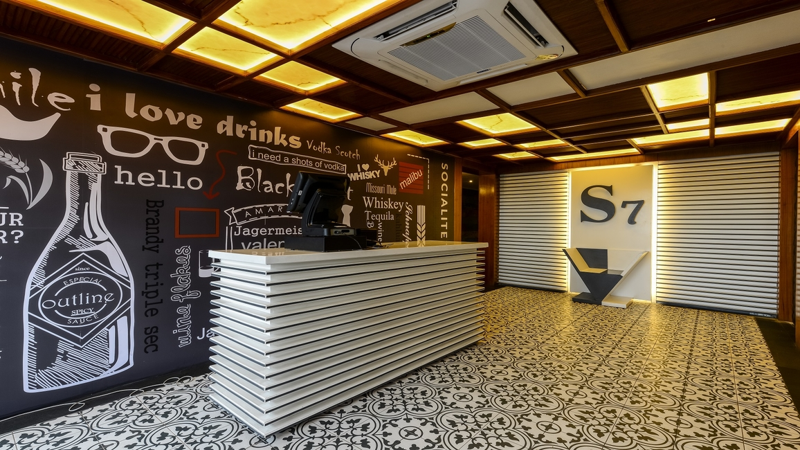 SOCIALITE, 7 CAFES, Synthetic materials, Highest Roof Top in the Area, Italian, Mexican, Indian-Punjabi, Subtle, Dramatic, Color changing LED, Mandala Art Paintings, Italian Staco Paint, KR Architecture, KR Architecture Studio (Bhopal, NIT, NIT Bhopal, Residential, Hospitality, Architect Kamalroop Singh Maan, Hospitality projects, Health care projects