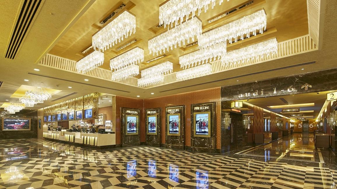 Ishvinder Kaur, Multiplexes, Cinemas in India, Sushant School, Japanese Restaurant, Design vocabulary, International design firms, Architects, Transformative era, Designs, Technology, Multiplex industry, Minimalist