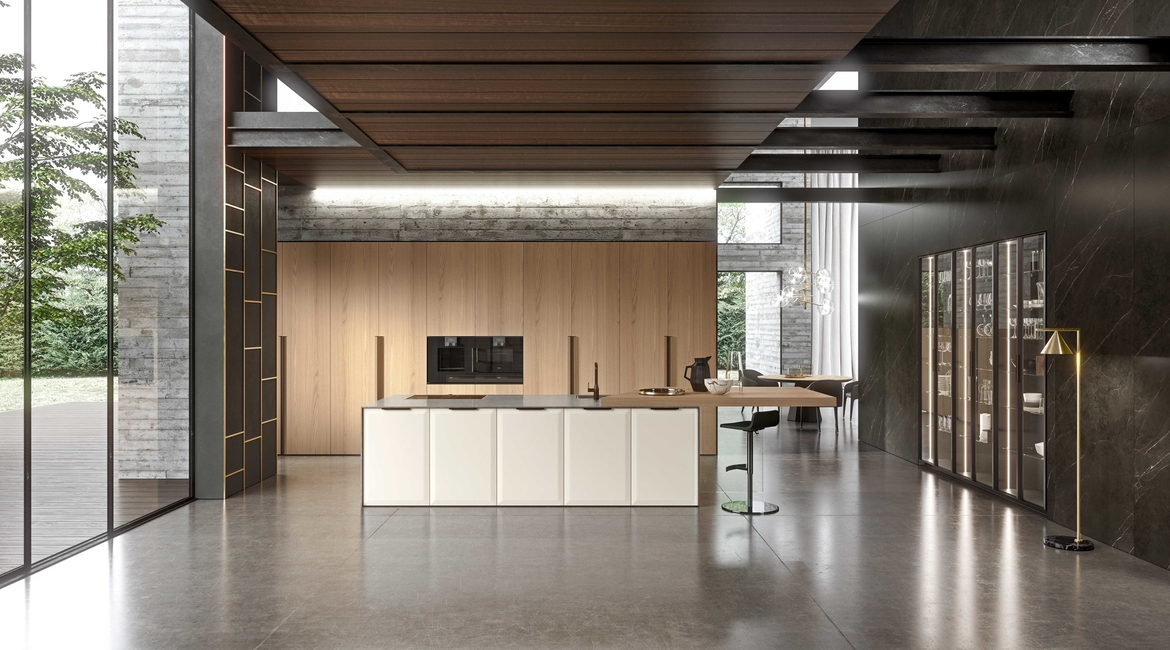 Brera Academy, Aster Cucine, Ottimo, Kitchens, Italy, Italian, Accademia di Brera, Palazzo Brera, Culture, Milan, Made in Italy, Furniture, India, Design, Products, Interiors, Style, Home, Colour, Quality materials, Lacquered, Collection, Storage