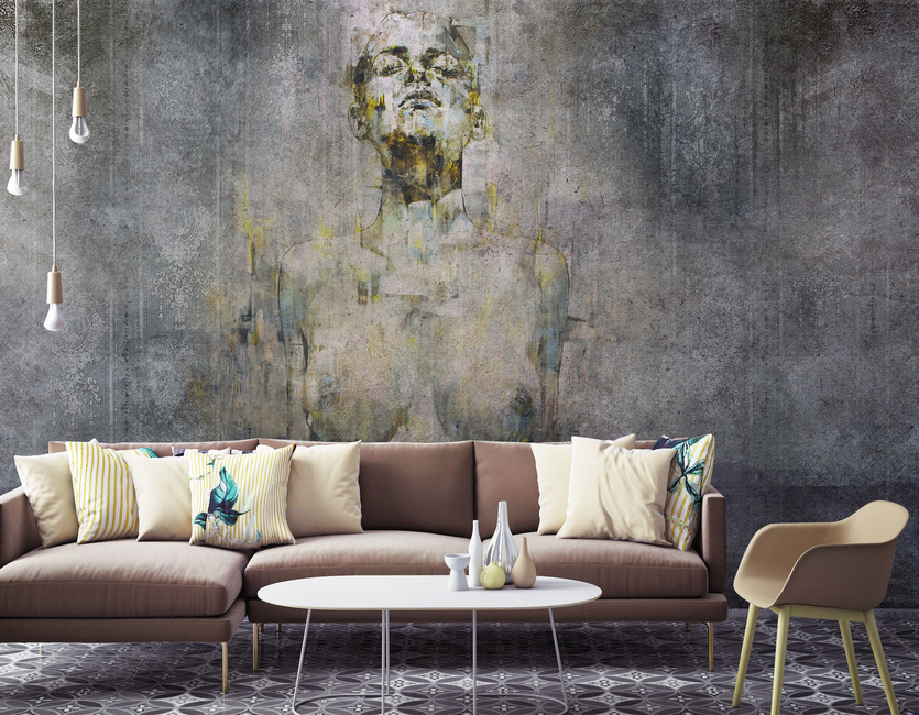 Momenti, Launch, Wallpapers, Collection, New range, Ottimo, Italy, Italian, Walls, India, Design, Products, Interiors, Style, Home, Themes, Crazy Paper, Artists, Human faces, Artwork