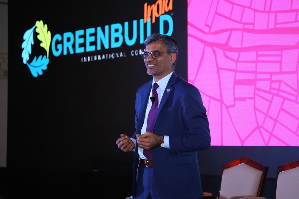 USGBC, US Green Building Council, Greenbuild India, Bengaluru, LEED, Green buildings, Third edition, Event, Mahesh Ramanujam, GBCI, Spaces, Living standard, Residents, Communities, Conference