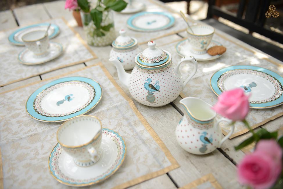 High-tea, Experience, Kaunteya Tableware, Dasara, Collection, Inspiration, Mysore Palace, Royal, India