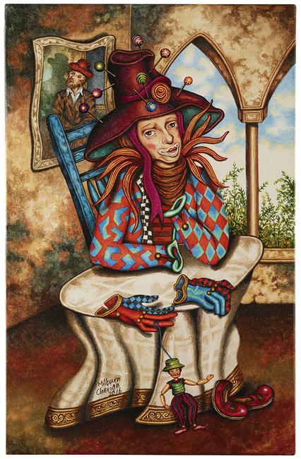 Milburn cherian, LIVING BETWEEN THE TIMES 2020, Visual Arts Gallery, Paintings, Exhbition