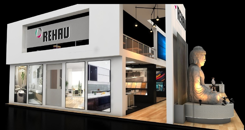 Rehau, INDIAWOOD 2020, Exhibitions and fairs, Expo, Bangalore International Exhibition Centre, Flipdoor, Rehau polymers, Ajay Khurana