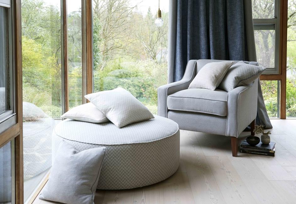 Clarke & Clarke, Premium furnishing fabrics, Studio G Patagonia, Maishaa, Upholstery, Blinds, Cushion covers, Jacquard, Glacier, Moreno, Valdez