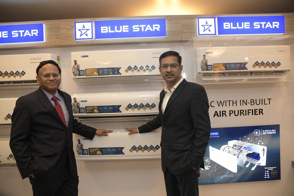 Blue Star, Launch, Premium-yet-affordable, Residential, Air conditioners, Products, Energy-efficient, Low cost, B Thiagarajan, Mumbai, Virat Kohli