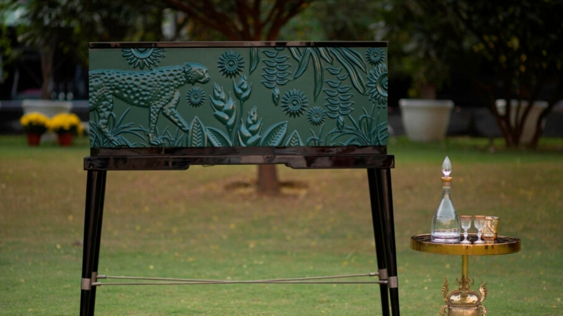 Casa Paradox, Amazonia Collection 2020, Raseel Gujral Ansal, Casa Paradox studio, DLF Emporio, Spring Summer Furniture Trends 2020, Contemporary furniture, Luxury gift collectables, Porcelain decor products
