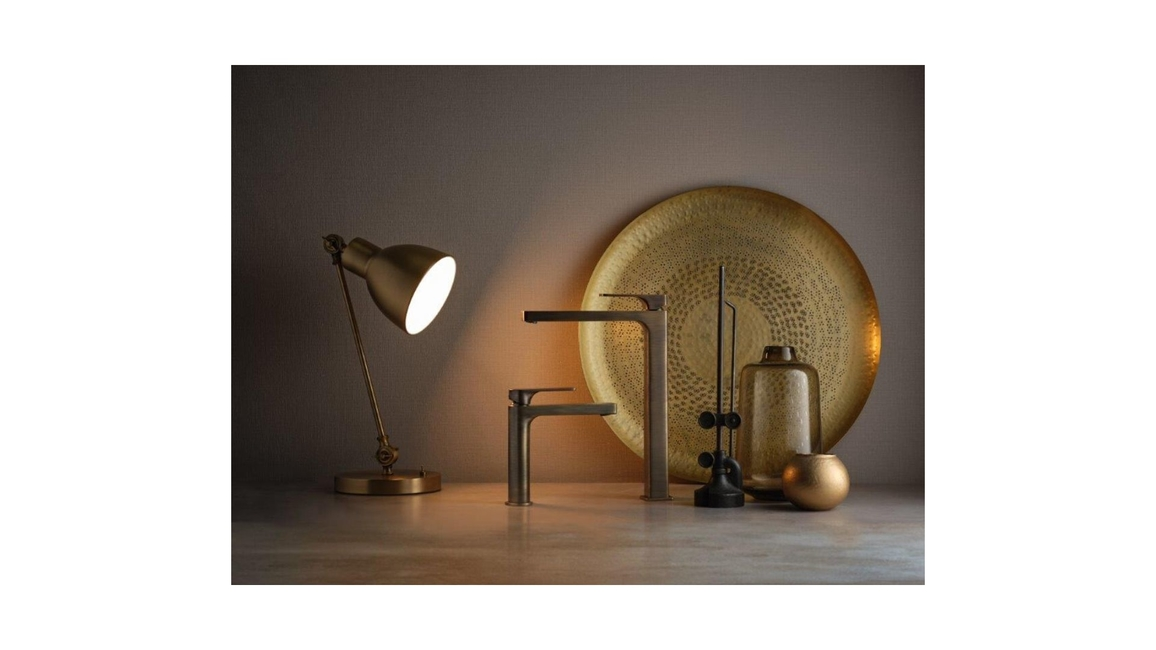 Ritmonio, Bath fixtures, Contemporary bathrooms, New in bathrooms, Finishes Selection of Ritmonio, Rose Gold bath products, Bronze bath products, Black chrome bath fixtures, Champagne bath fixtures, Taps and bathroom mixers