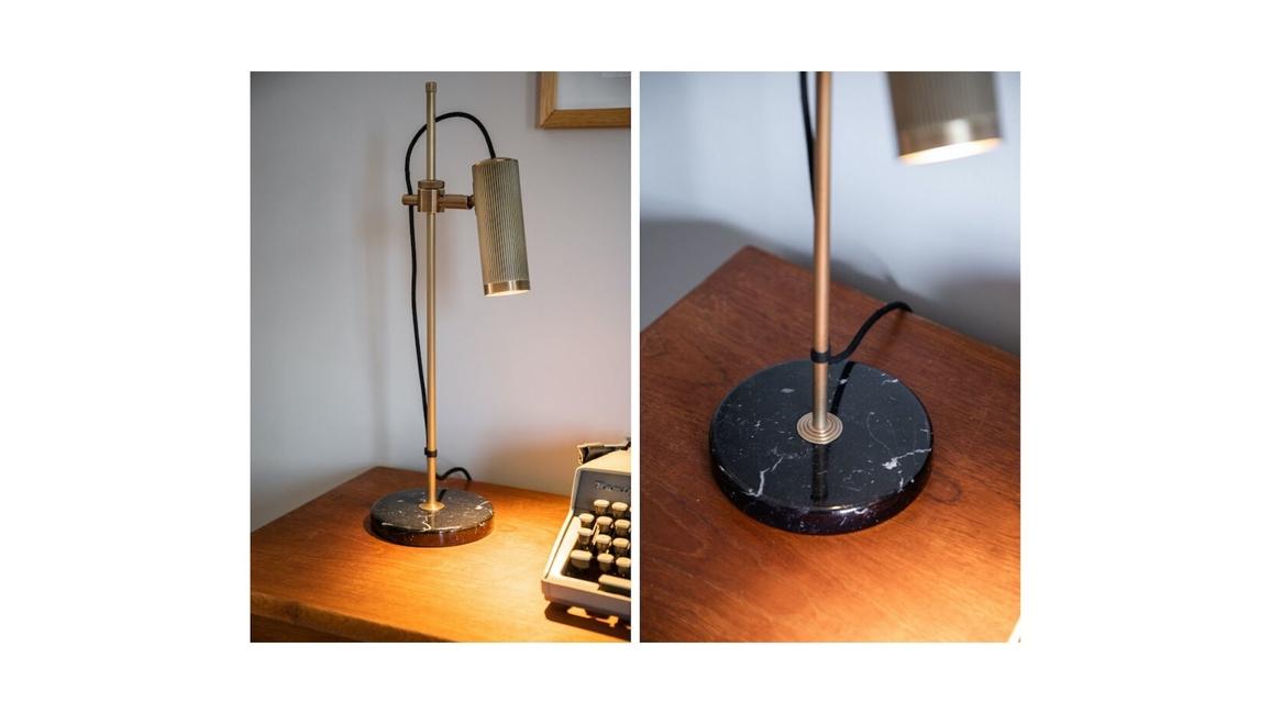 J Adam's & Co, Spot desk light, Spot collection, Interior task lighting, Desk lamp, Height adjustable lamps, Glare free illumination, Warm light lamps