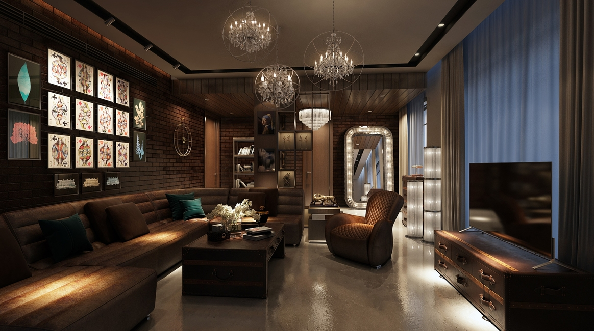 42mm Architecture, Entertainment areas, Design trends 2020, Residential design, Luxury design projects