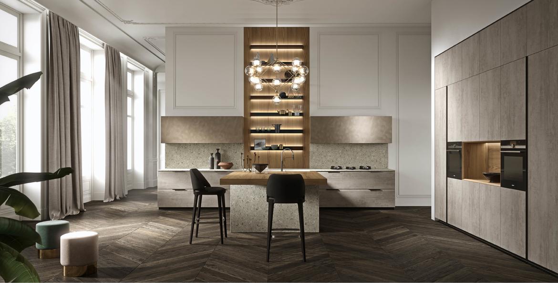 Aster Cucine, Ottimo, Brera Academy, Milanese design culture, Italian Kitchens
